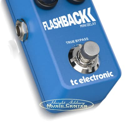TC Electronic Flashback Mini Ultra-Compact Guitar Delay Pedal with Built-In TonePrints* and Audio Tapping for sale