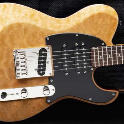 Dean Zelinsky Dellatera Z-Glide Custom Quilt 2019 Blonde for sale