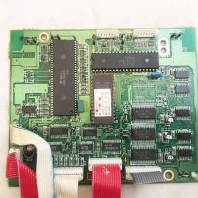 Roland D-20 Synthesizer CPU Board. Works Great !