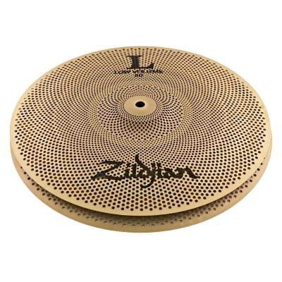 "Zildjian L80 Low Volume 14"" Hi-Hat Cymbal Pair image"