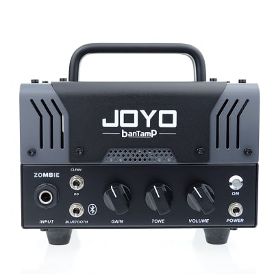 JOYO Zombie Bantamp 20w Pre Amp Tube Hybrid Guitar Amp head with Built in Cab Speaker Amp Simulation for sale