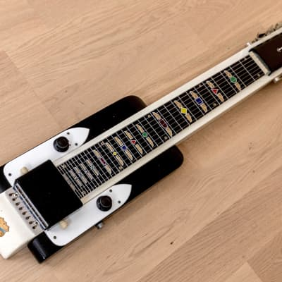 1952 National Dynamic 8-String New Yorker-Style Vintage Lap Steel w/ Case, Cable for sale