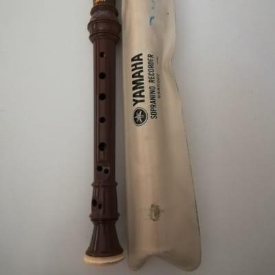 Yamaha YRS-312B Baroque Fingering Soprano Recorder Made In Japan