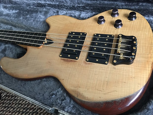 Wal Mk1 Fretless Bass 1985 Sycamore Facings Reverb