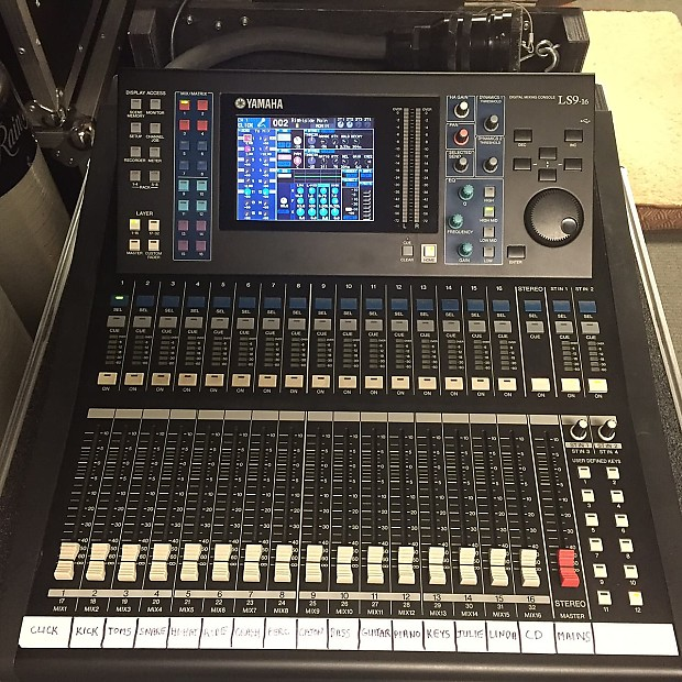 yamaha ls9 16 digital mixer 100 39 quick snake stage box