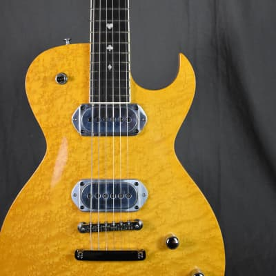 2001 Bigsby BY48NR Prototype Amber Birdseye Maple for sale
