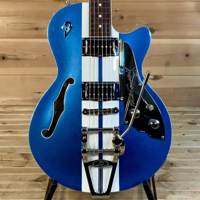 Duesenberg ALLIANCE MIKE CAMPBELL I Electric Guitar - Blue/White for sale