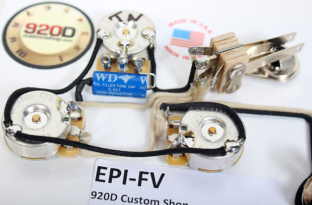 Stupendous 920D Wiring Harness For Gibson Epiphone Flying V For Reverb Wiring Digital Resources Funapmognl