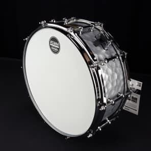 """Tama LST1455H 5.5x14"""" S.L.P. Series Vintage Hammered Steel Snare Drum Drum"""