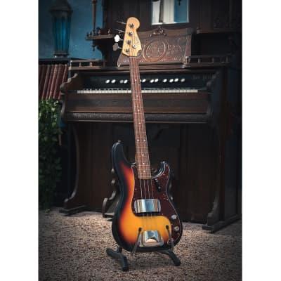 Fender Fender 2011 Custom Shop 1960 Closet Classic Precision bass 3 Tone Sunburst 2011 3 tone sunburst for sale