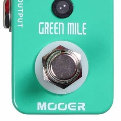 Mooer Green Mile, overdrive micro pedal for sale