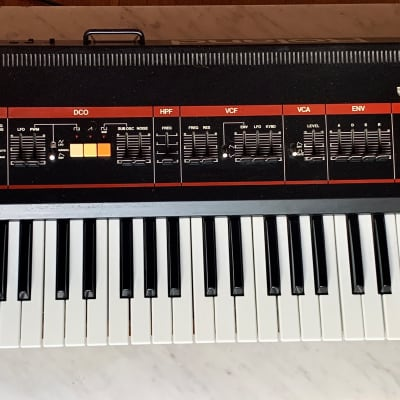 Roland Juno-60 61-Key Polyphonic Synth, 1983, w/ orig Owner's Manual, Patch Program Data+cassettes