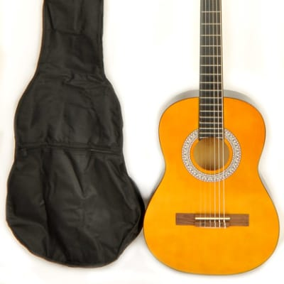 Omega Classical Kit 1/2 Size (34 inch)  Left Handed Acoustic Guitar for sale