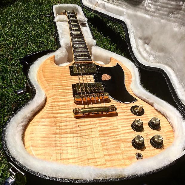 100% Flamed Maple Gibson SG | Sam's Strings