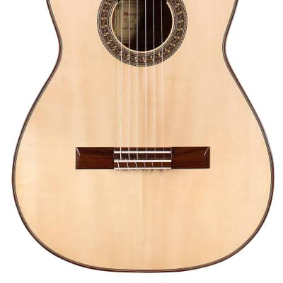 German Vazquez Rubio Estudio 635 2020 Classical Guitar Spruce/Palo Escrito for sale