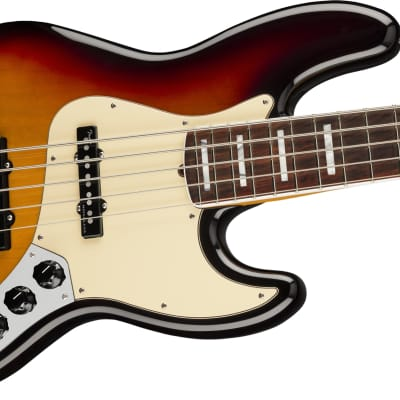 Fender American Ultra Jazz Bass V, Rosewood Fb, Ultraburst 465 for sale
