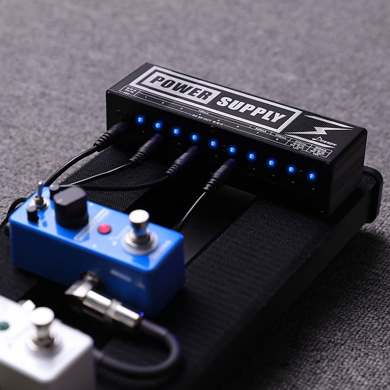 donner dp 2 guitar effect pedal power supply 10 isolated dc reverb. Black Bedroom Furniture Sets. Home Design Ideas