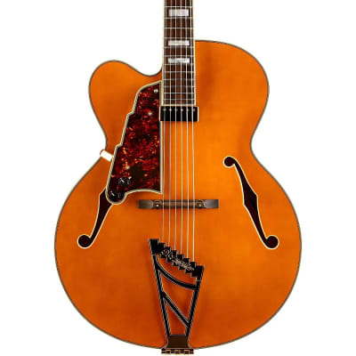 D'Angelico Excel EXL-1 Hollow Body Archtop (Left-Handed) Natural-Tint
