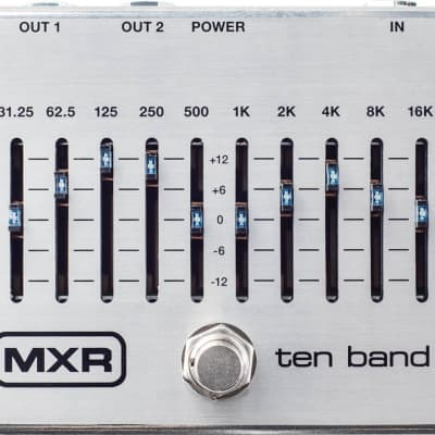 MXR Ten Band Equalizer Effect Pedal for sale