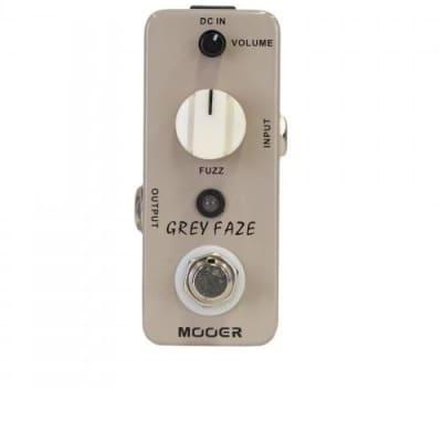 Mooer MEP-GF  Grey Faze - Vintage Fuzz Pedal for sale