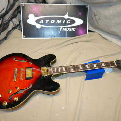 Dillion DSE534 dse-534 Semi Hollow Body Electric Guitar for sale
