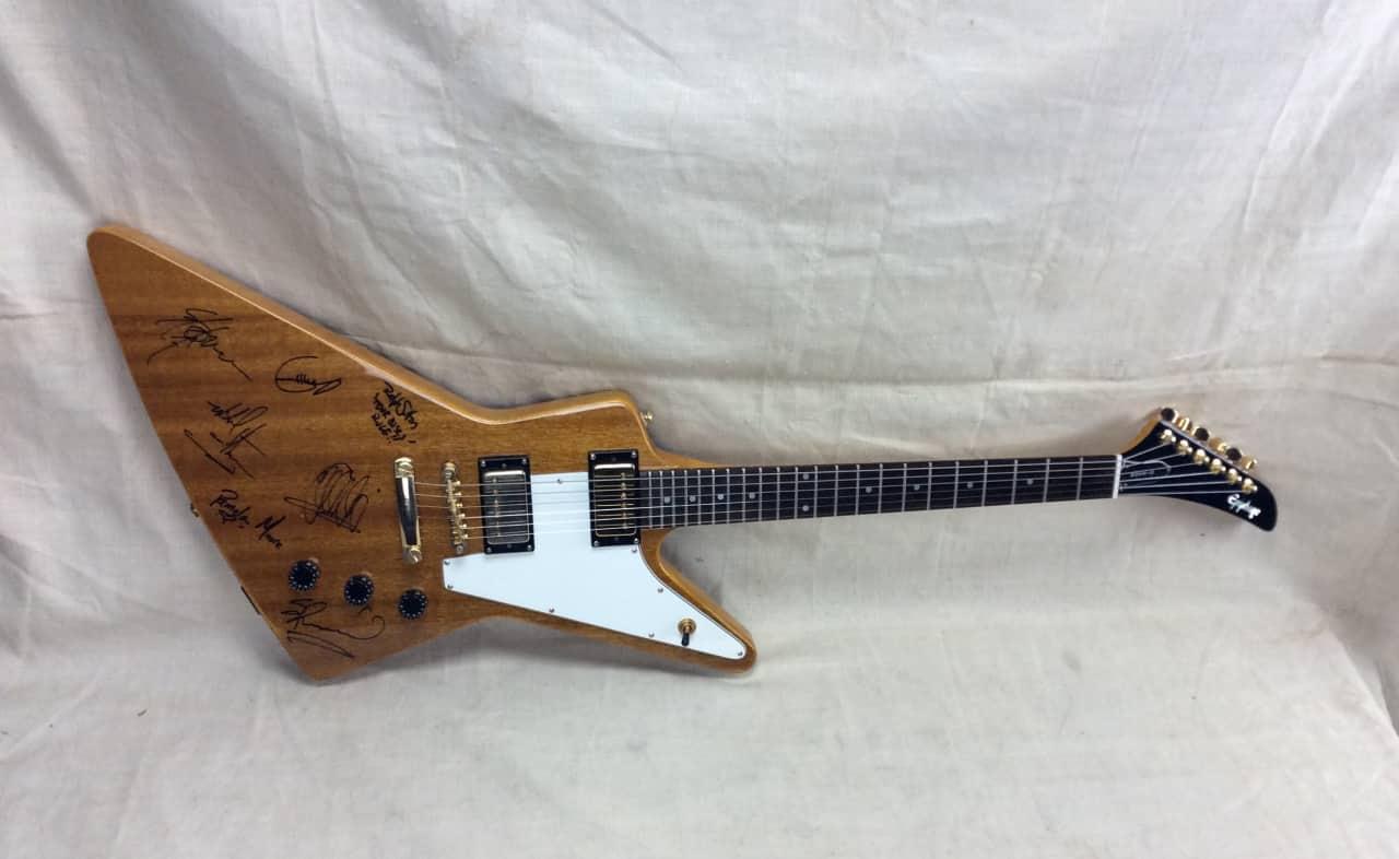 used 1998 epiphone explorer 39 58 korina electric guitar reverb. Black Bedroom Furniture Sets. Home Design Ideas
