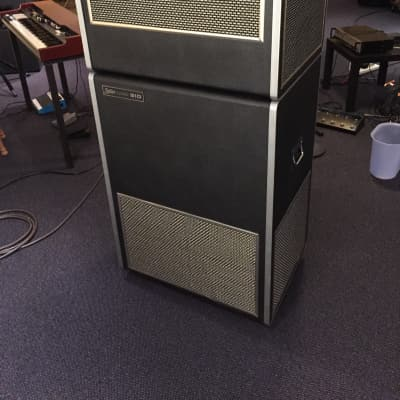 Leslie 910 Pro Model (Twin Cabinet) + Combo DeLuxe Preamp/Pedal + 9 Pin Cable for sale