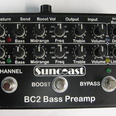 Suncoast BC-2 Bass Preamp *NEW VERSION ETA=AUG. 2020 !