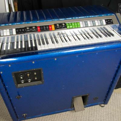 Kustom Kombo Organ Blue