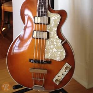 Hofner Club Bass H500/2 LTD Dark Violin 2012