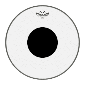 "Remo 10"" CS Black Dot Clear"