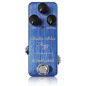 One Control BJF Series Baltic Blue Fuzz Guitar Effects Pedal for sale