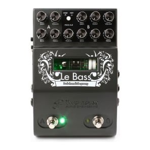Two Notes Le Bass Dual Channel Tube Bass Preamp Pedal for sale