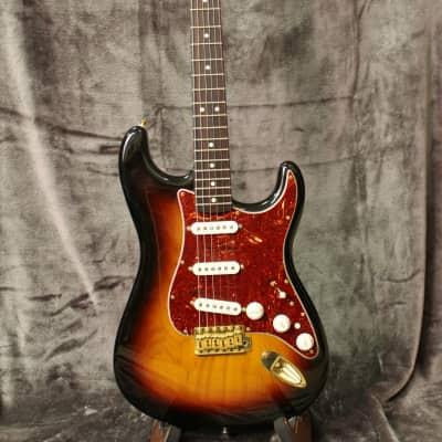 Fender Deluxe Players Stratocaster 2008 Sunburst for sale