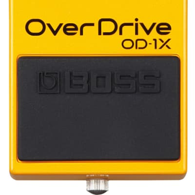 Boss OD-1X Special Edition Over-Drive Pedal with Premium Tone Pedal