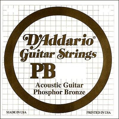 d 39 addario single phosphor bronze guitar string reverb. Black Bedroom Furniture Sets. Home Design Ideas