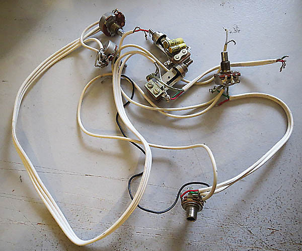 Gretsch original wiring harness reverb