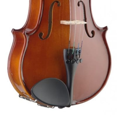 Stagg 1/4 solid maple violin w/ ebony fingerboard and standard-shaped soft case