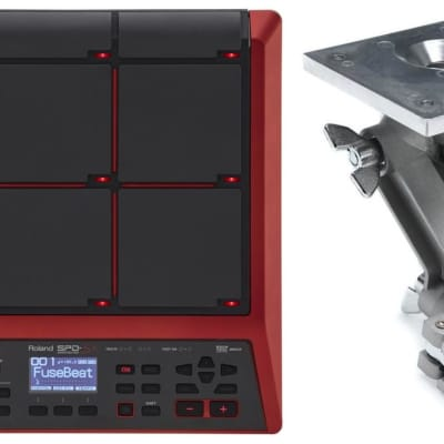 Roland APC-33 Electronic Module and Controller Mount - with Clamp + Roland SPD-SX Special Edition Sampling Percussion Pa
