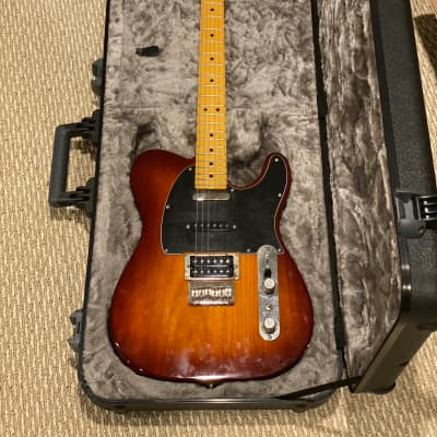 Fender Telecaster Modern Player plus FREE NEW FENDER MOLDED CASE Fender Telecaster  2015 Honey Burst for sale