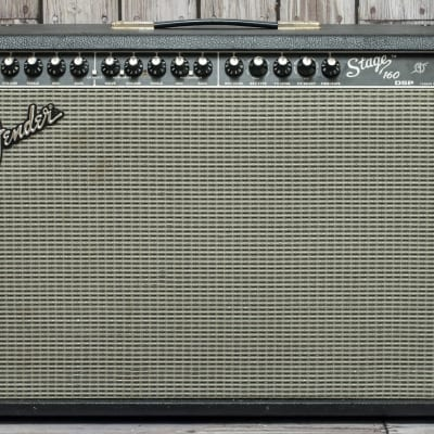 "Fender	Stage 160 DSP 2-Channel 160-Watt 2x12"" Solid State Guitar Combo with Onboard Effects	2002 - 2004"