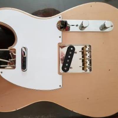 fender  tele custom shop body copper loaded