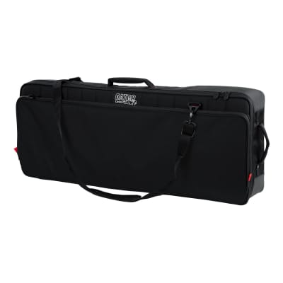 Gator GPG49 Pro-Go Series 49-note Keyboard Bag with Micro Fleece Interior and Removable Backpack Str