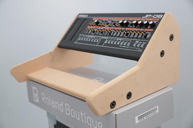 mdf dual stand for roland boutique jx03 ju06 jp08 a01 reverb. Black Bedroom Furniture Sets. Home Design Ideas