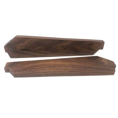 Akai AX80 Synth Wood Side Panels Walnut