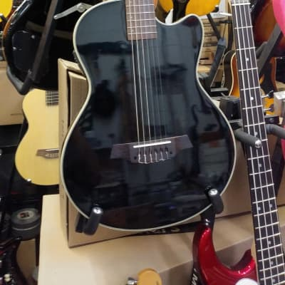 NEW! Angel Lopez Black Finish Solid Body Classical Electric Guitar - Amazing Value! for sale