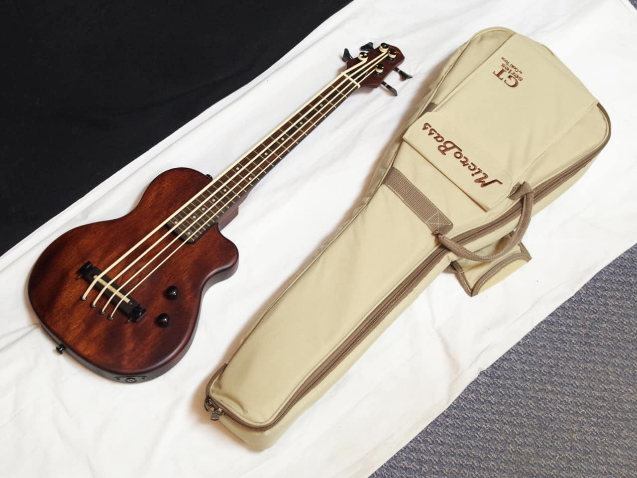 gold tone microbass me bass short scale electric 4 string reverb. Black Bedroom Furniture Sets. Home Design Ideas