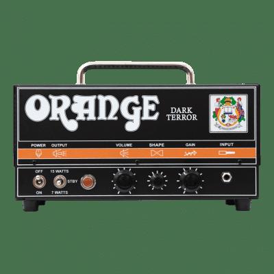 Orange Dark Terror 15/7-watt Hi-Gain Tube Head Orange