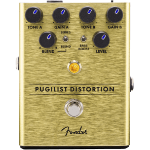 Fender Pugilist Distortion Pedal 885978891160 for sale