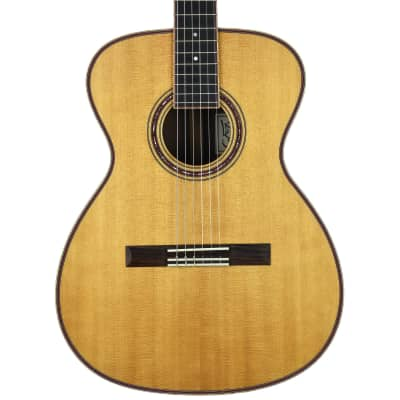 Fox Charles Fox Concert Sierra Nylon 000 Brazilian Natural - Used for sale
